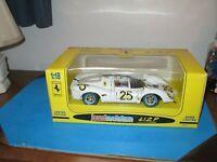 JOUEF EVOLUTION 1:18 FERRARI 412P N.A.R.T. Le Mans 1967 Die-Cast NEW NIB 3024