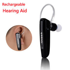 Hearing Aid Aids Digital Behind Ear Sound Amplifier Bluetooth Rechargeable USA