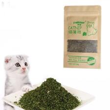 10g Natural Green Premium Catnip CAT NIP TOY FINE GRIND Very Potent no-stalks