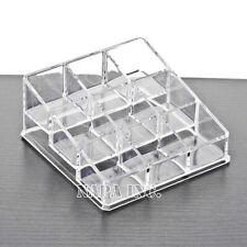 Clear Acrylic Organizer Cosmetic Makeup Case Jewelry Nail Polish Display Storage