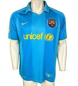 Nike Barcelona Football Away Shirt Camiseta Jersey 2007-2009 XL