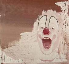Pia Mankopf - 1974 Düsseldorf / Lachender Clown / Gemälde signiert im Rahmen