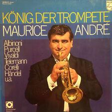 Albinoni Purcell Vivaldi - Maurice Andre - König der Trompete  - Vinyl LP F11
