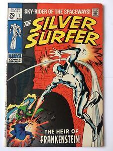 Silver Surfer #7 FN/VFN (7.0) MARVEL ( Vol 1 1969)