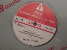 "RARE  - BBC Sounds Effects EC 17R - Horsedrawn Traffic - 7"" 33rpm"