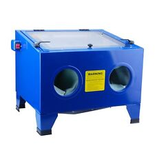 Steel Core 25 Gallon Bench Top Sandblast Cabinet Air Sand Blaster with light