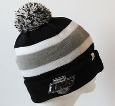 NHL Los Angeles Kings BREAKAWAY CUFF KNIT Cap Beanie Hat with Pom OSFM-Black