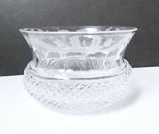 EDINBURGH Crystal, Scotland - THISTLE - Etched Finger Bowl(s)
