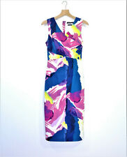 LIMITED EDITIONS Womens Size 8 Pencil Dress Colourful EUC