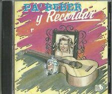 Pa' Beber y Recordar Latin Music CD New