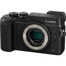 Panasonic LUMIX GX8 Interchangeable Lens (DSLM) Camera BLACK Body Only