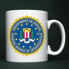 FBI - Federal Bureau of Investigation - Personalised Mug / Cup