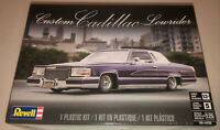 Revell Custom Cadillac Lowrider 1:25 scale model car kit new 4438