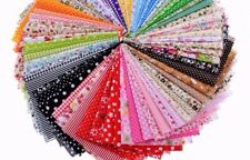 SALE !!! 50 Pcs set - 100 % Cotton Quilting Fabric for Sewing Scrapbook Cloth