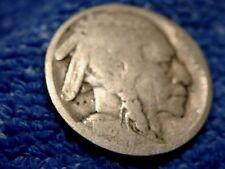 Rare Buffalo Nickel 1918-S About Bon À Bon