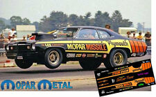 CD_MM_093 Don Carlton   Mopar Missile 1973 Duster   1:18 scale decals