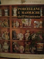 V. Brosio, PORCELLANE E MAIOLICHE DELL'OTTOCENTO,  A.Vallardi editore, 1960.
