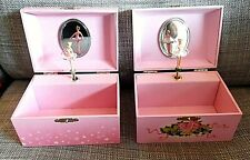 LOT OF 2 X VERY GOOD MUSIC BALLERINA BOXES Trousselier AND JOHN LEWIS WORKING