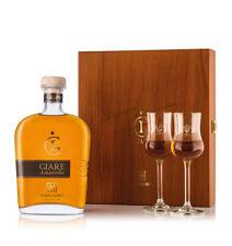 Grappa Giare Amarone von Marzadro 70 CL IN Geschenkbox IN Der Holzkiste