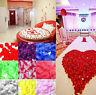 1000 Wedding Scatter Fake Flower Silk Rose Petal Bridal Flowergirl Basket Favor