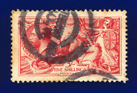 1913 SG401 5s Pale Rose-Carmine Waterlow N66(2) Shaftesbury Ave GU Cat £375 chcj