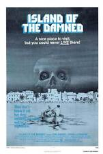 ISLAND OF THE DAMNED Movie POSTER 27x40 Lewis Fiander Prunella Ransome Antonio