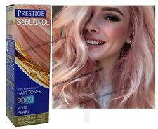 ROSE PEARL Blond Bleached NO AMMONIA Dye Color NOYELLOW PINK HAIR TONER BB 09