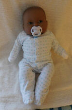 """21"""" Infant Reborn Biracial/AA Jointed Cuddle Baby"""