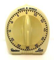Vintage Robert Shaw Lux Minute Minder Kitchen Timer Atomic Rocket Knob