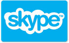 Skype Credit $10 / $25 / $50 -  Call, Text, Wifi Hotspots     For Sale