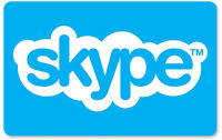 Skype Credit $10 / $25 / $50 -  Call, Text, Wifi hotspots