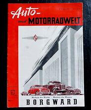 Auto-et moteur radwelt 09/51 Bit 1951,nsu - Record du monde: Wilhelm cœur, EILENRIEDE 51