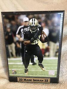 "New Orleans Saints 9""x12"" Plaque Featuring #22 Running Back Mark Ingram"