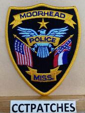 MOORHEAD, MISSISSIPPI POLICE SHOULDER PATCH MS