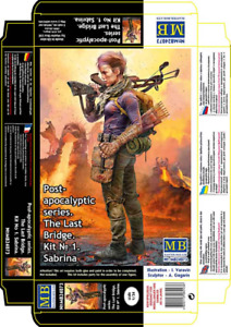 "Master Box 24073 ""Pоst-apocalyptic series. The Last Bridge. Kit No. 1. Sabrina"""