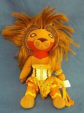 SIMBA The Lion King Broadway Musical Plush Stuffed Animal Doll