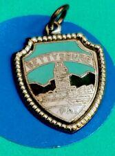 Charm I10 Gettysburg Shield Sterling Silver Vintage Bracelet