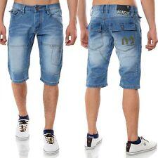 Kurze Normale Herren-Shorts & -Bermudas aus Denim