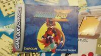 ~ Mega Man Zero (Nintendo Game boy Advance, 2003) ~ Manual Only ~