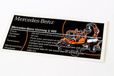 Lego Technic UCS / MOC Sticker for Unimog U 400 8110
