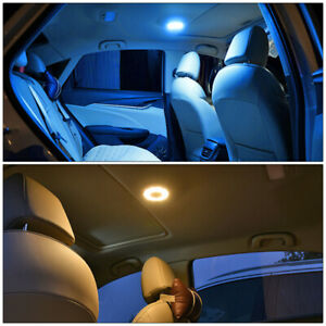 Magic Universal Car Trunk Ceiling Lamp Roof Interior LED Magnet Reading Lights~!