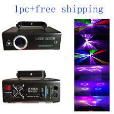 1pc 1W RGB Full Color Animation Laser Light  ILDA 20KPPS DJ Light Free Shipping