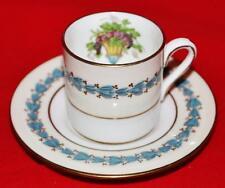 Wedgwood Bone Chine - APPLEDORE - W3257 - Demitasse Cup & Saucer Set