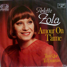 "7""GRAND PRIX 1982 (FRANCE) ARLETTE ZOLA Amour On T´Aime"