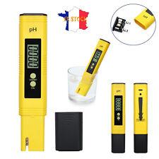 pH Mètre 0-14.0 Testeur Numérique Thermomètre Piscine Aquarium PH107 TH1378