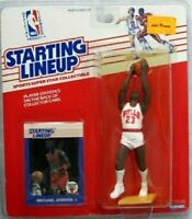 *Factory Sealed*  1988 STARTING LINEUP MICHAEL JORDAN  IN PROTECTIVE CASE w/Card