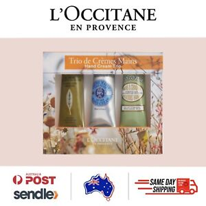 L'Occitane - Best Hand Cream Trio (Almond, Shea Butter, Verbena) + FREE SAMPLES