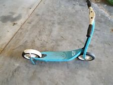 Vintage Antique two wheel scooter