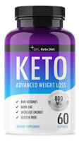 QFL KETO BHB 800mg PURE Ketone FAT BURNER RAPID Weight Loss Diet Pills Ketosis
