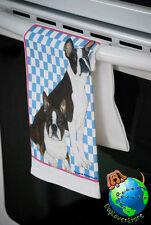 Boston Terrier Kitchen Hand Towel